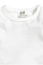 Jersey top - White - Kids | H&M 2